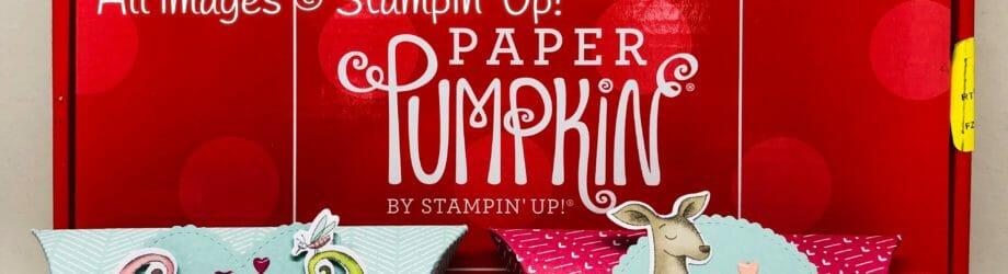 Be Mine Valentine – January 2019 Paper Pumpkin