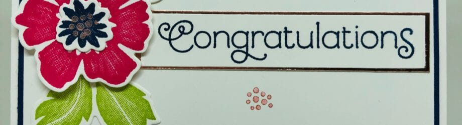 Everything Is Rosy Congratulations Card