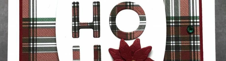HO HO HO – No Stamping Card